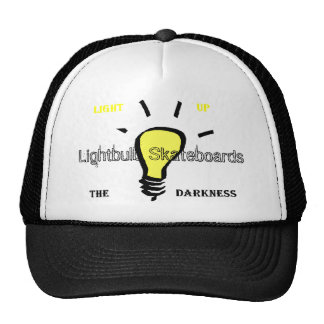 Hat, Lightbulb Skateboards Cap