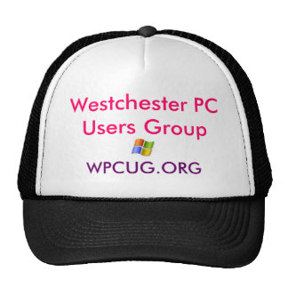 hat logo, Westchester PC Users Group , WPCUG.ORG