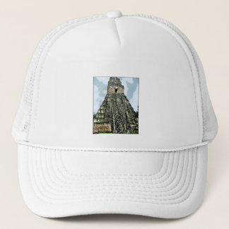 Hat: Mayan Temple at Tikal, Guatemala Trucker Hat