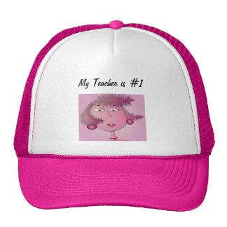"hat ""My teacher is Number One"""