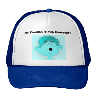 "Hat ""My teacher is the Greatest"""