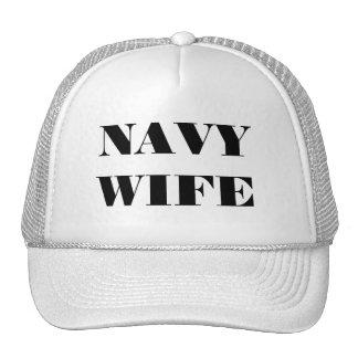 Hat Navy Wife