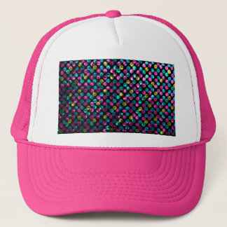 Hat Polka Dot Sparkley Jewels