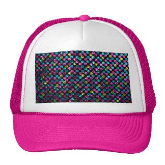 Hat Polka Dot Sparkley Jewels