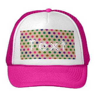 Hat Polka Dots