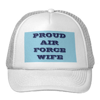 Hat Proud Air Force Wife