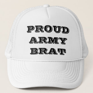 Hat Proud Army Brat