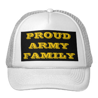Hat Proud Army Family