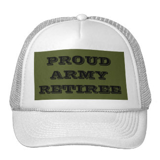Hat Proud Army Retired