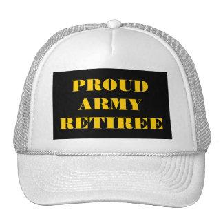 Hat Proud Army Retiree