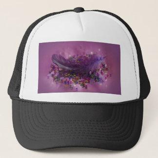 Hat - Purple Fairys Feather