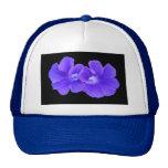 Hat, Purple Floating Morninglories 5226
