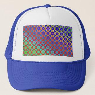 Hat - Rainbow Mandala Fractal Pattern