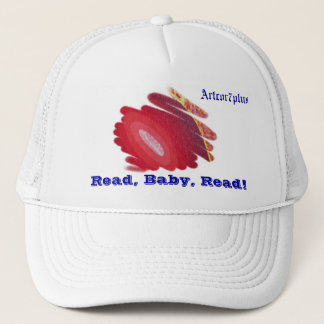 Hat Red Spirals Art Read Baby Read