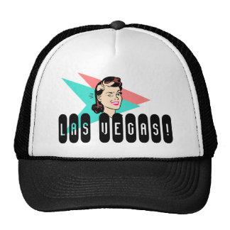 Hat Retro Las Vegas Wink Discreet fun souvenir Cap
