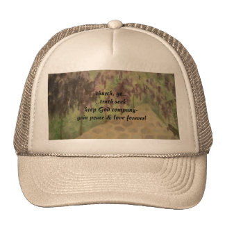 Hat/Saving souls/gardens art