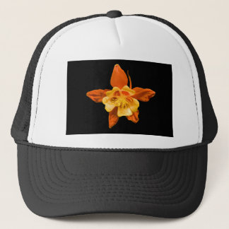 Hat, Single Columbine Blossom Trucker Hat