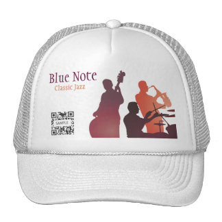 Hat Template Jazz Band