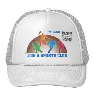Hat Template School Athletics