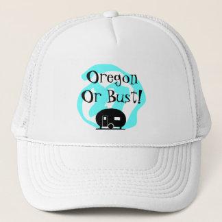 Hat Travel Trailer Oregon or bust OR Trip camp