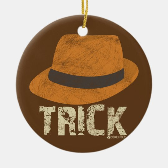 HAT TRICK SOCCER CHRISTMAS ORNAMENT