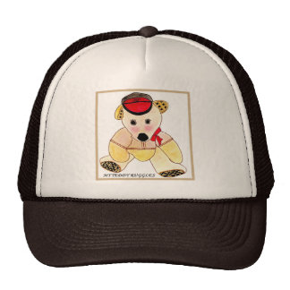 HAT TRUCKER STYLE FOR WITH TEDDY RUGGLES PIC