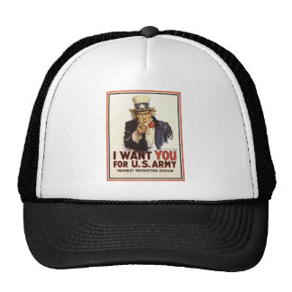 Hat: Uncle Sam - I Want You