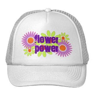 HAT ~ Vintage Retro Crazy Dazy Floral Flower Power