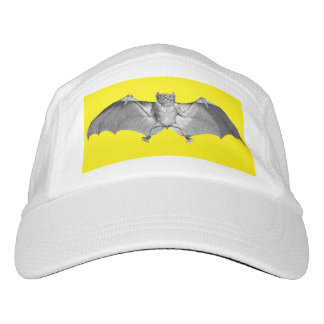 Hat with a Bat Vintage Illustration