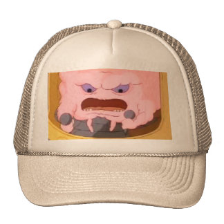 Hat with a sloppy twist!