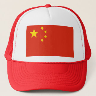 Hat with Flag of China
