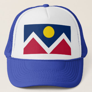 Hat with Flag of  Denver, Colorado State - USA