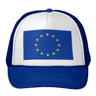 Hat with Flag of European Union