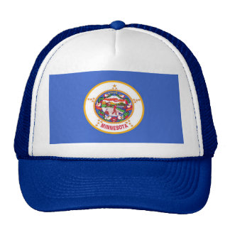 Hat with Flag of Minnesota State - USA