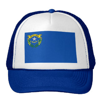 Hat with Flag of Nevada State - USA