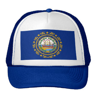 Hat with Flag of  New Hampshire State - USA
