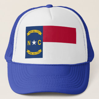 Hat with Flag of North Carolina State - USA