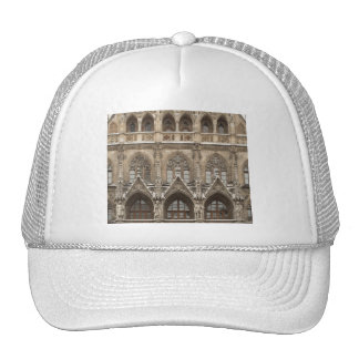 Hat with Gothic Revival Architecture