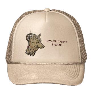 Hat - Wolf Totem Dream Catcher