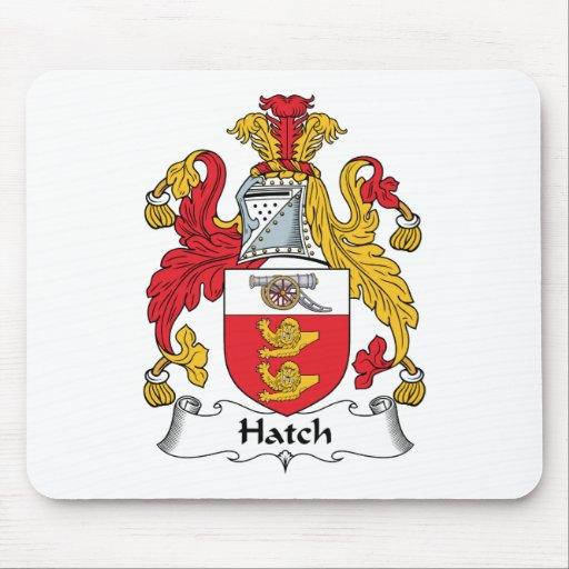 Hatch Family Crest Mouse Mats