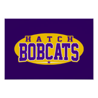 Hatch High School; Bobcats Poster