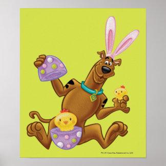 Hatched Easter Egg Poster