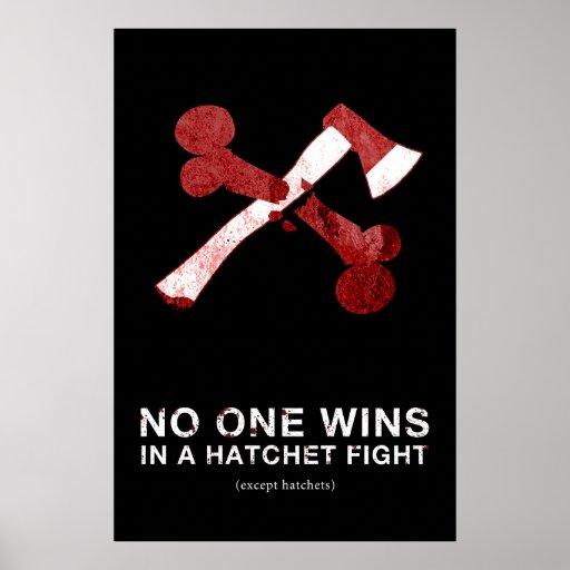 Hatchet Fight Poster V.2 - 24 x 36
