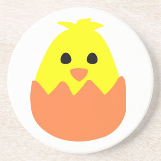 Hatching Easter Chick Coaster