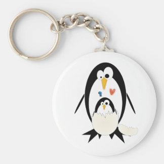 Hatching Penguin Key Chain