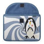 Hatching Penguin Macbook Pro 13in Rickshaw Sleeve MacBook Pro Sleeve