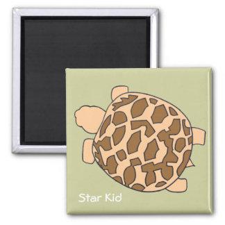 Hatchling Star Tortoise Magnet
