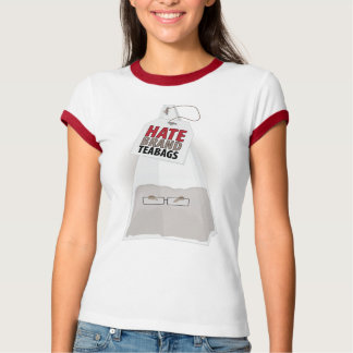 Hate Brand Teabags Tee Shirt