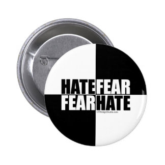 Hate Fear / Fear Hate - Button