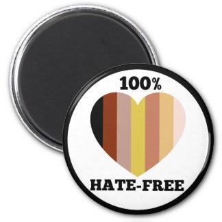 Hate-Free Skin Hues Magnet